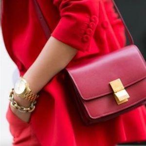 💯 AUTH_Celine Mini Box Hot Red 💯